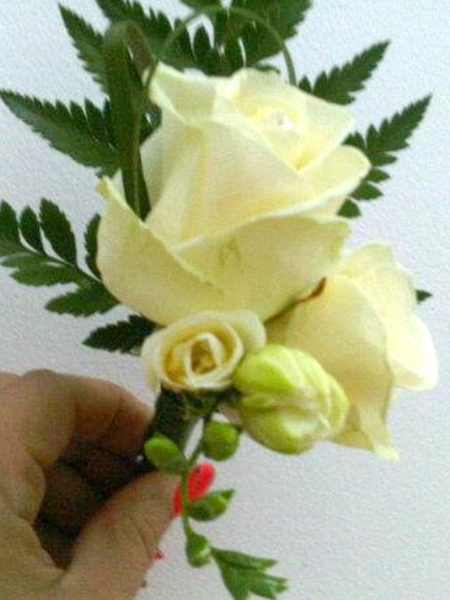 Bridal Flowers | Buttonhole Rose