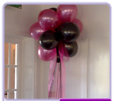 Cluster of 10 balloons