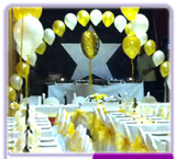 Balloons, Balloon Arch & Chair Covers