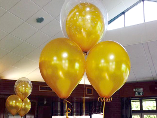 Hall Decoration | Cluster of 3 Balloons