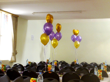 Hall Decoration | Cluster of 4 Balloons