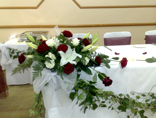 Hall Decoration | High Table Decoration