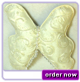 Butterfly Rings Cushion